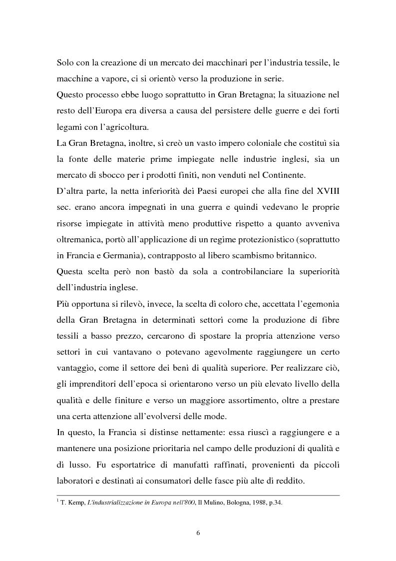 Anteprima della tesi: Il sistema della moda e la comunicazione: strumenti ed obiettivi, Pagina 6