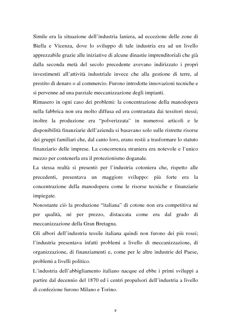 Anteprima della tesi: Il sistema della moda e la comunicazione: strumenti ed obiettivi, Pagina 8