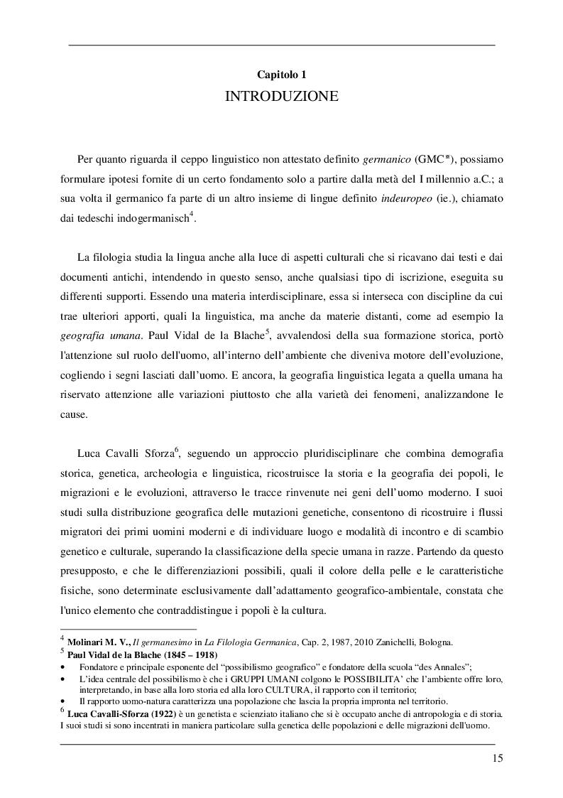 Estratto dalla tesi: I Reti e i Germani: alfabeto retico di Magré e Rune. L'elmo B di Negau