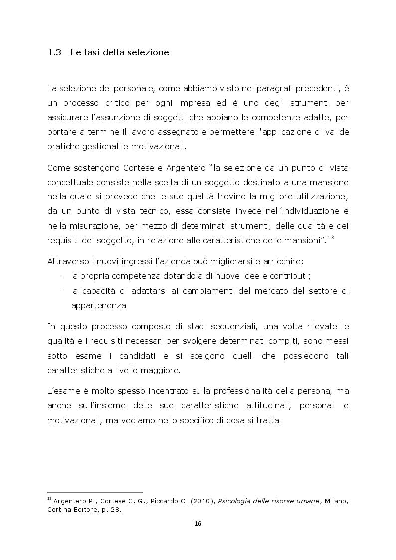 Estratto dalla tesi: La selezione del personale attraverso le agenzie per il lavoro: il caso Synergie Italia Spa