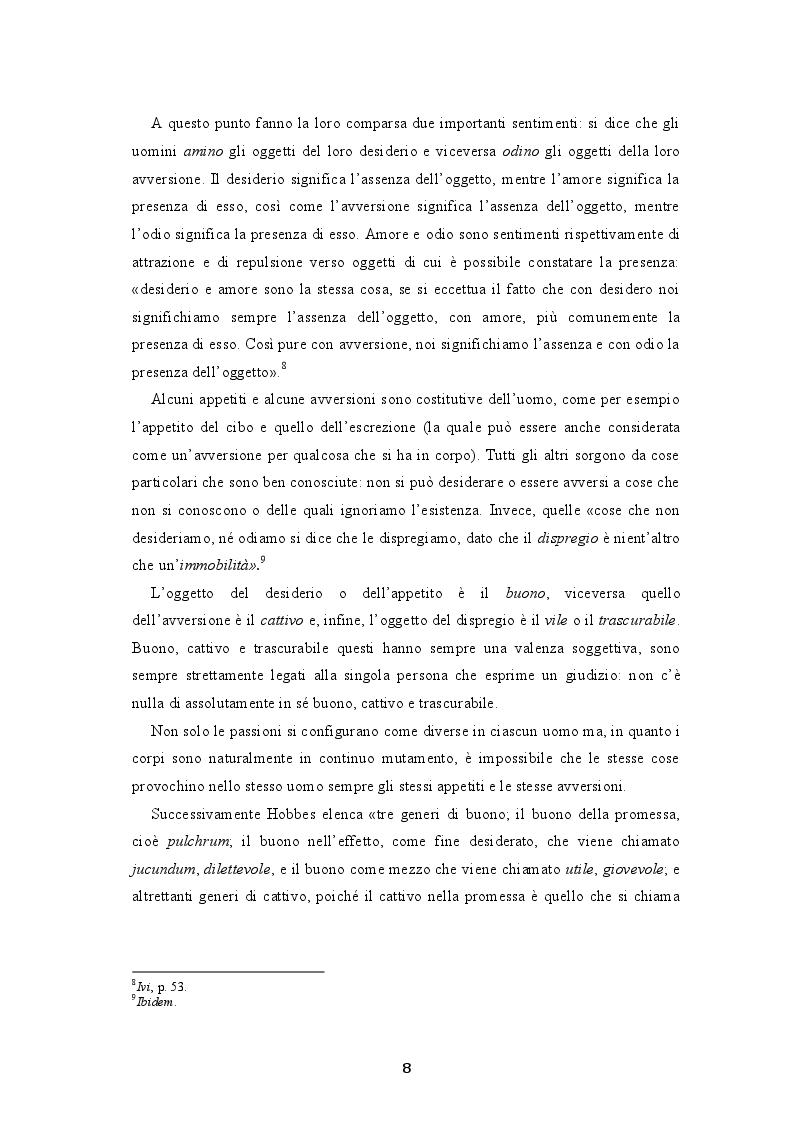 Estratto dalla tesi: Paura e potere nel Leviatano di Thomas Hobbes