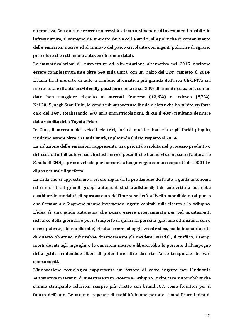 Estratto dalla tesi: Il CRM nelle strategie degli Automotive retailers: il caso Maldarizzi