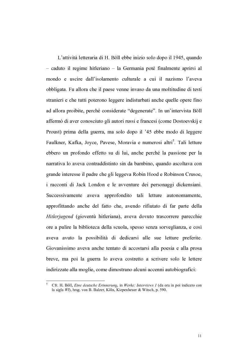 Anteprima della tesi: L'Irlanda di Heinrich Boell, Pagina 11