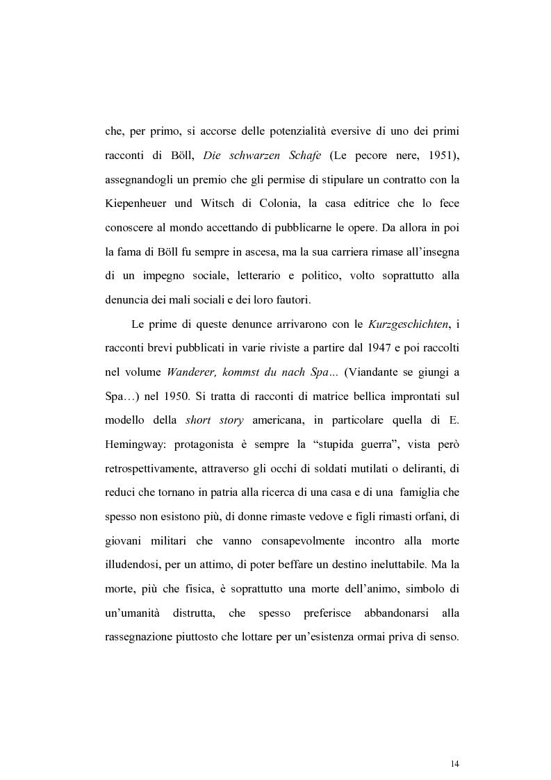 Anteprima della tesi: L'Irlanda di Heinrich Boell, Pagina 14