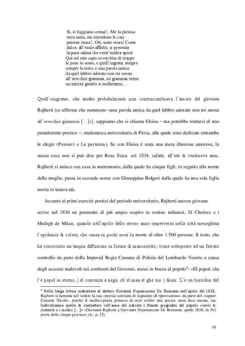 Estratto dalla tesi: Tra satira e realtà: ''Il viaggio di un ignorante ossia ricetta per gli ipocondriaci'' di Giovanni Rajberti