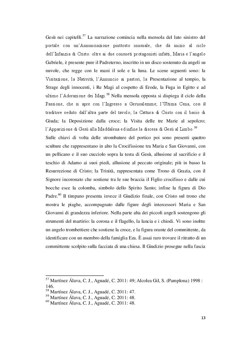 Estratto dalla tesi: Le chiese medievali di pellegrinaggio lungo il Cammino di Santiago de Compostela