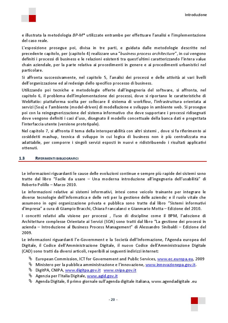 Estratto dalla tesi: La gestione dei procedimenti urbanistici nella pubblica amministrazione. Un caso di studio.