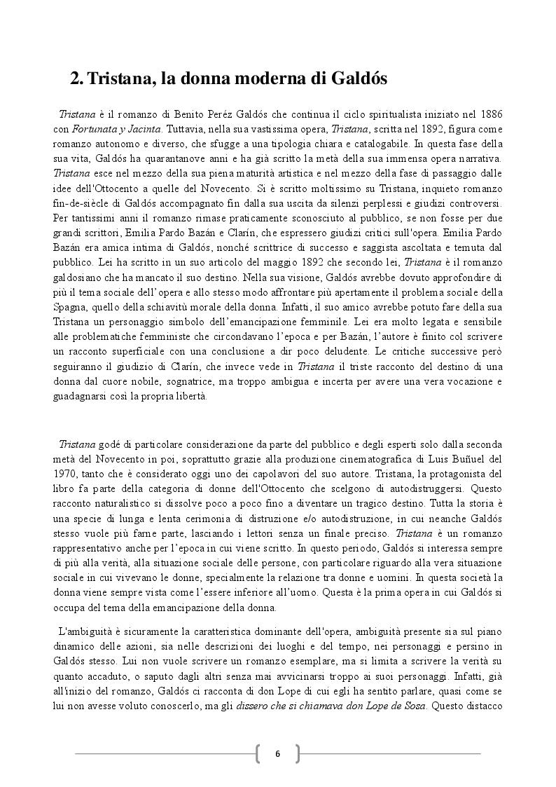 Estratto dalla tesi: 'Tristana'. Confronto tra le traduzioni, analisi e commento al romanzo di Benito Pérez Galdós