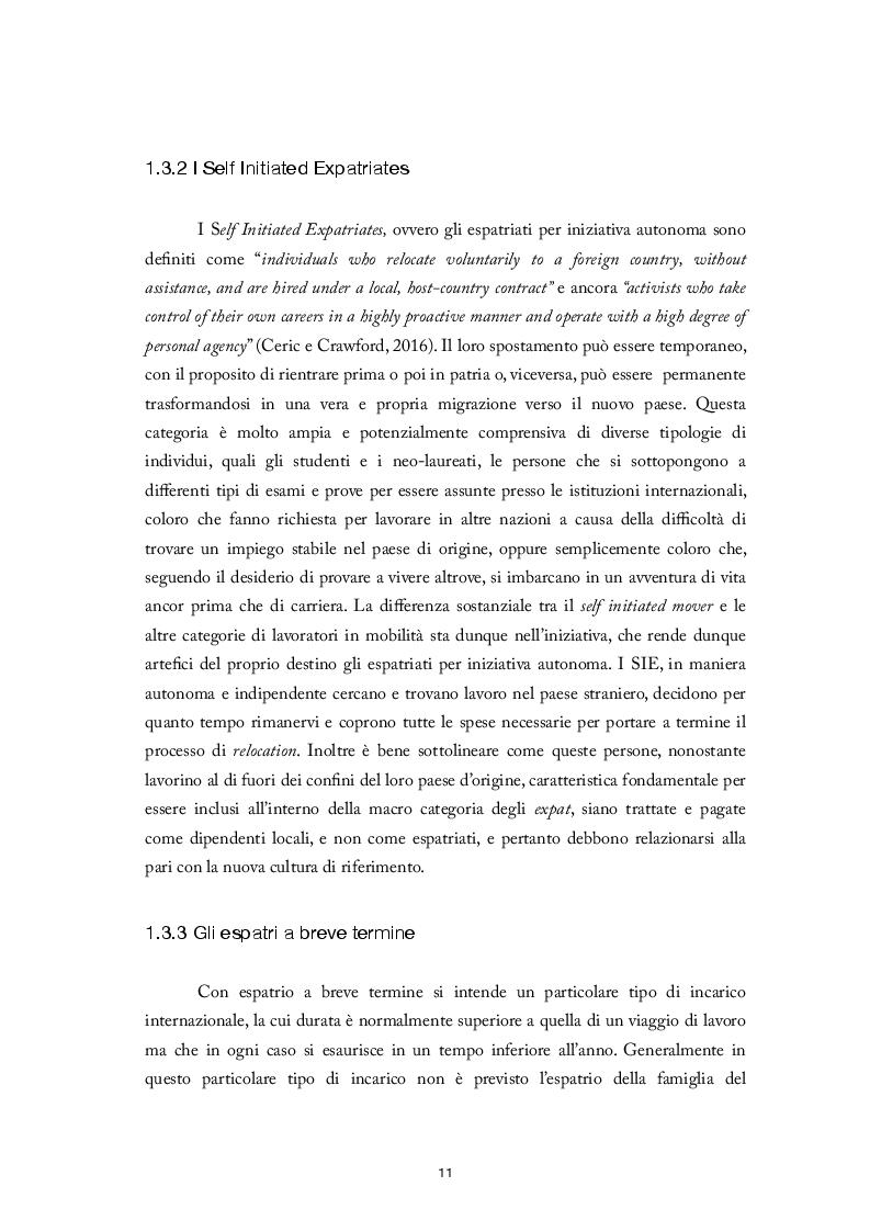 Estratto dalla tesi: Predisposizione alla mobilità internazionale: elaborazione e validazione di una scala di misura