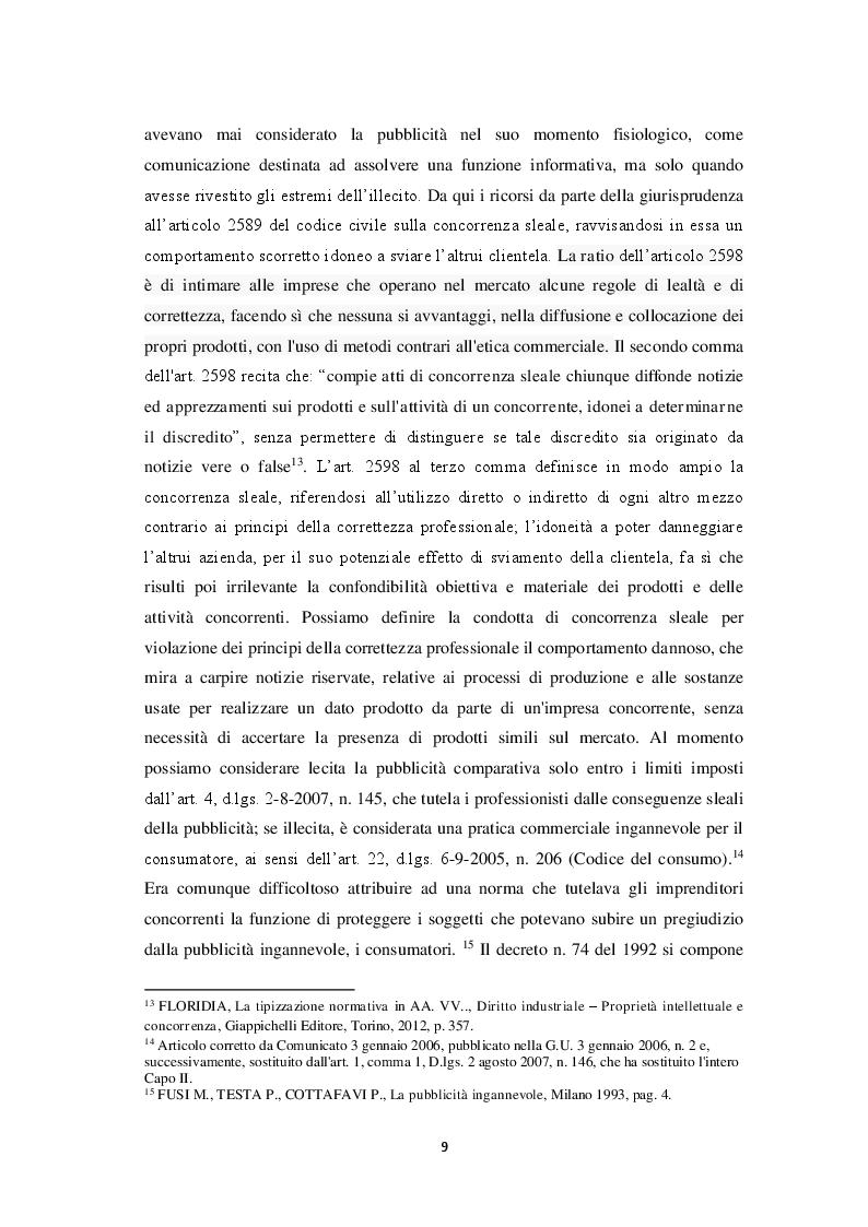 Anteprima della tesi: Le pratiche commerciali scorrette e i danni al consumatore: le forme di tutela in caso di forniture non richieste, Pagina 7