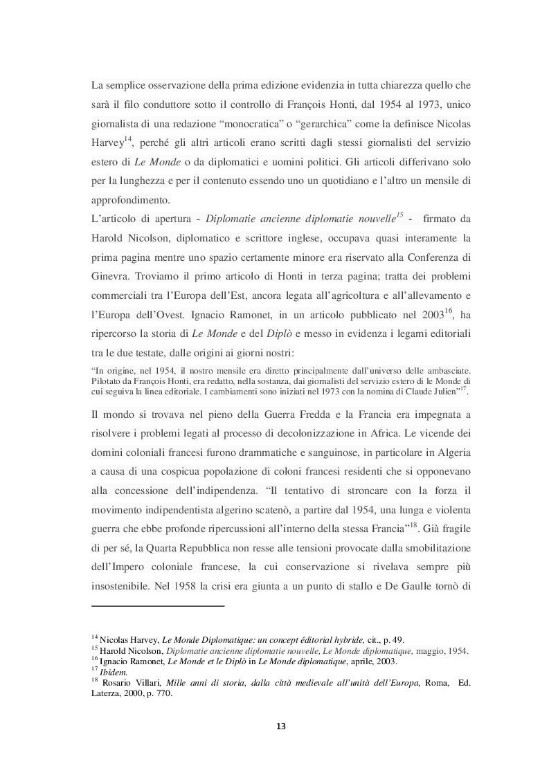 Estratto dalla tesi: Le Monde diplomatique e il dibattito su informazione e disinformazione