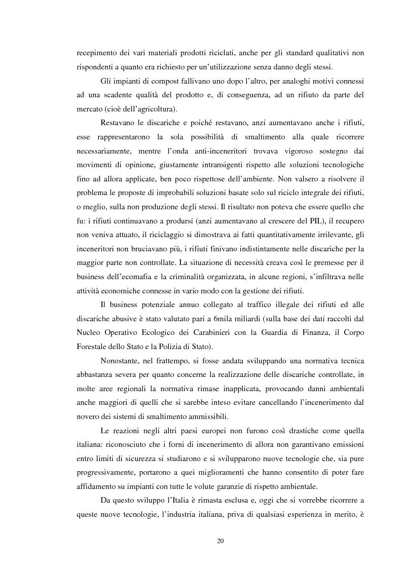 Anteprima della tesi: I rifiuti: da problema a risorsa, Pagina 10
