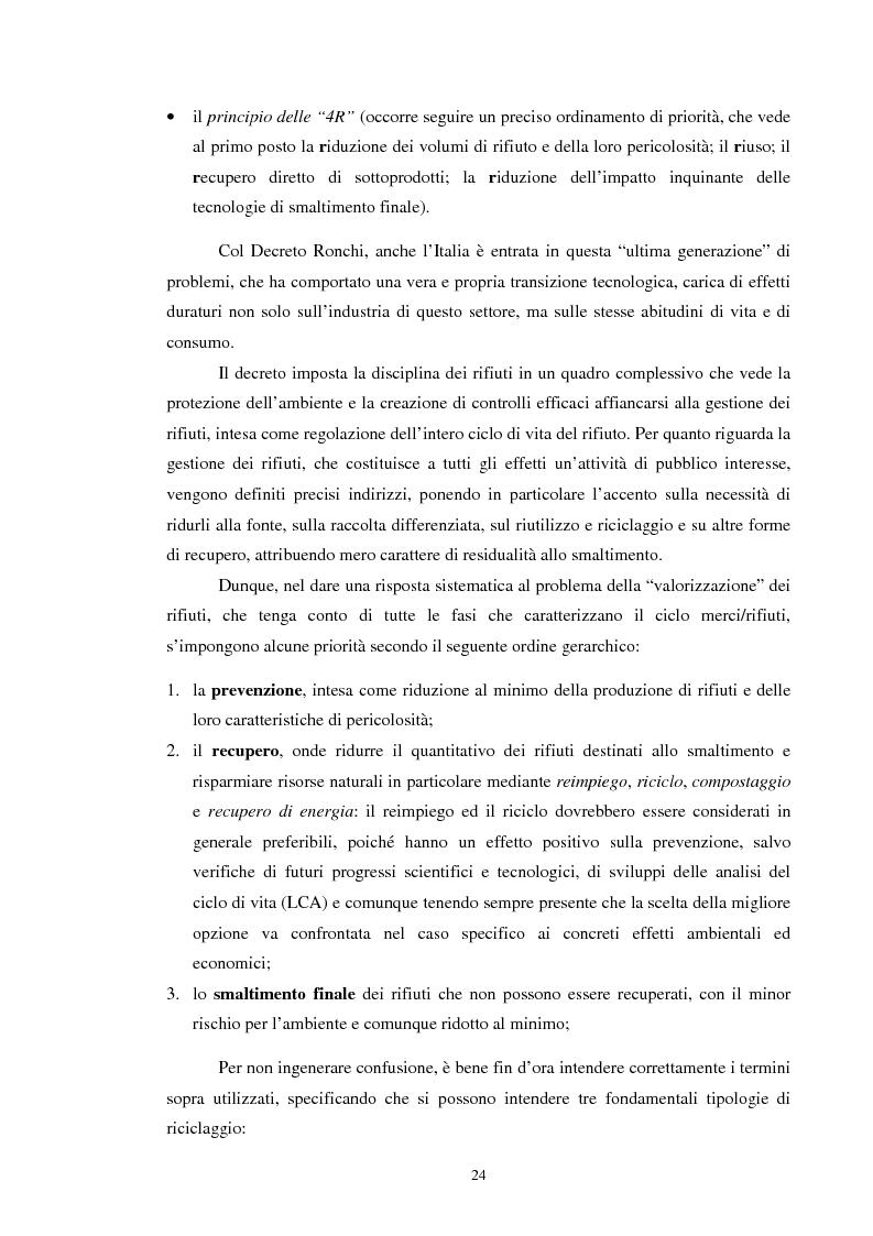 Anteprima della tesi: I rifiuti: da problema a risorsa, Pagina 14