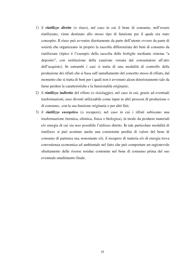 Anteprima della tesi: I rifiuti: da problema a risorsa, Pagina 15