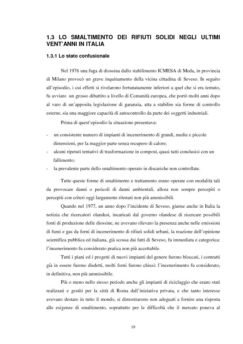 Anteprima della tesi: I rifiuti: da problema a risorsa, Pagina 9