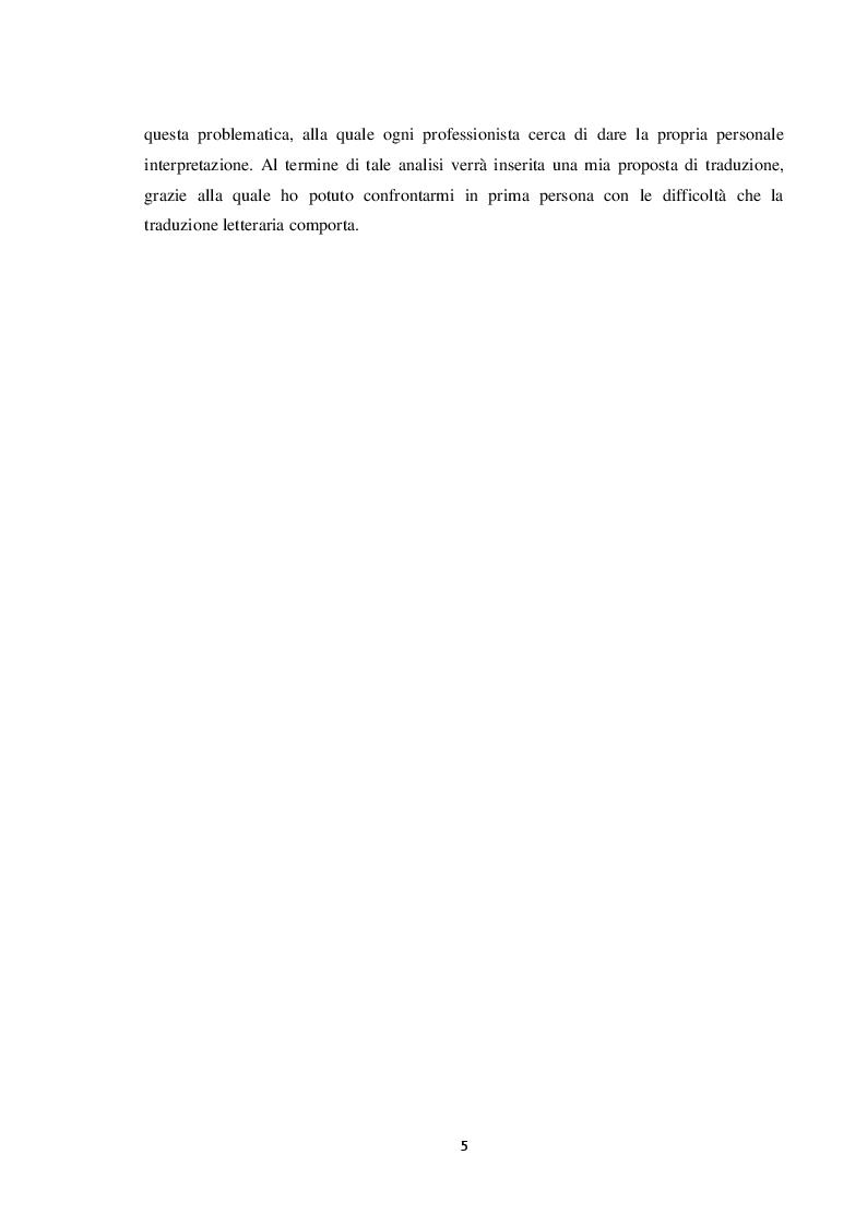 Anteprima della tesi: Il Grande Gatsby in lingua italiana: analisi comparativa delle traduzioni in italiano e proposta di traduzione, Pagina 4