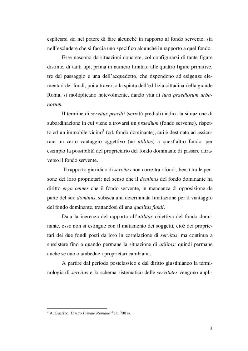 Anteprima Della Tesi: Intedicta In Materia Di Servitù, Pagina 6