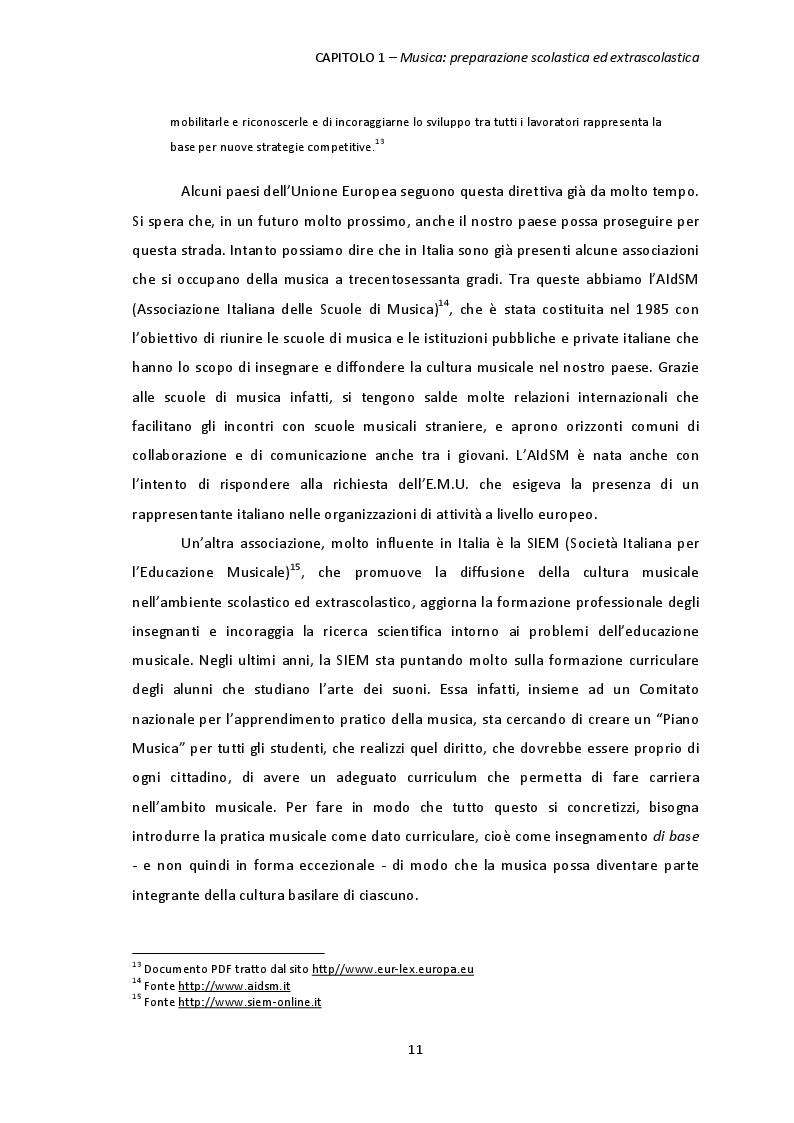 Estratto dalla tesi: L'apprendimento musicale: Aspetti verbali e non verbali