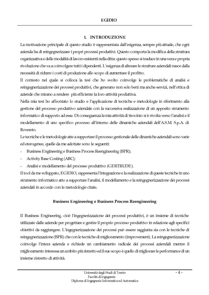Egidio uno strumento per l 39 analisi il modellamento e la for Strumento di disegno di architettura online