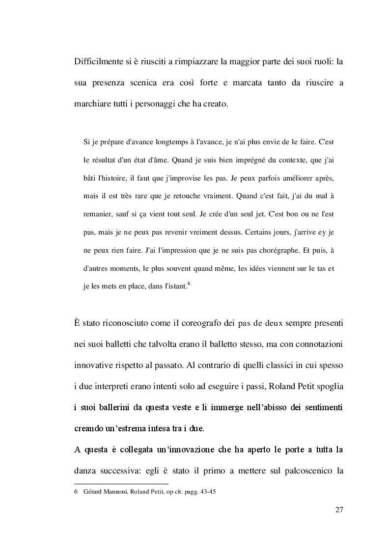 Estratto dalla tesi: Carmen secondo Roland Petit: dal racconto alla danza