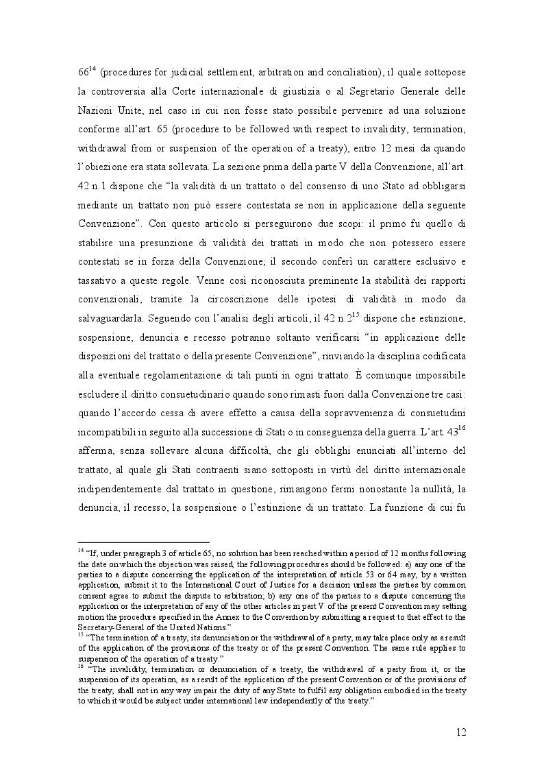 Estratto dalla tesi: Il recesso dai trattati internazionali tra diritto internazionale e diritto dell'Unione europea: il caso Brexit