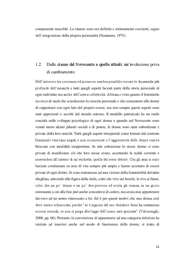 Estratto dalla tesi: L'Ombra nella donna e nella madre: un'analisi psicologica di ''Antichrist''