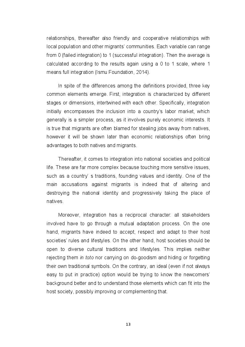 Anteprima della tesi: ''Fare gli italiani'': citizenship education and the difficult pathway from migrants to citizens, Pagina 8
