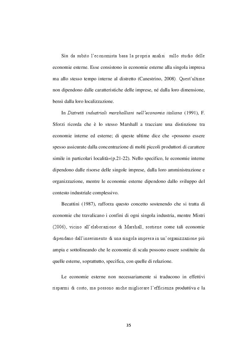 Estratto dalla tesi: Networks entrance into Rising Economies: L'esperienza dei distretti industriali italiani