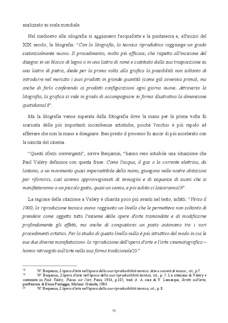 Estratto dalla tesi: Tra l'Aura e lo Choc: le possibilità dell'arte nel pensiero di W. Benjamin e Th. W. Adorno