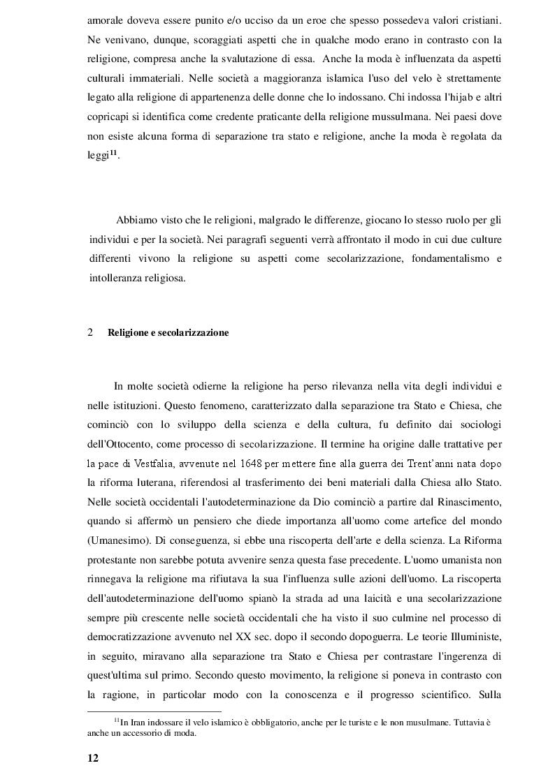 Estratto dalla tesi: Immigrazione islamica tra mass media e opinione pubblica