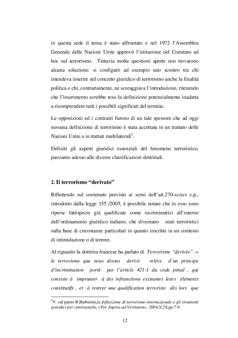 Estratto dalla tesi: Il contrasto al terrorismo internazionale e cooperazione giudiziaria nell'UE