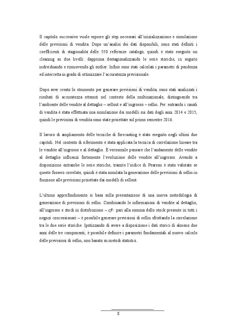 Anteprima della tesi: Analisi della correlazione temporale tra le serie storiche di vendita all'ingrosso e al dettaglio: il caso di un'azienda multinazionale del pharma&care, Pagina 3