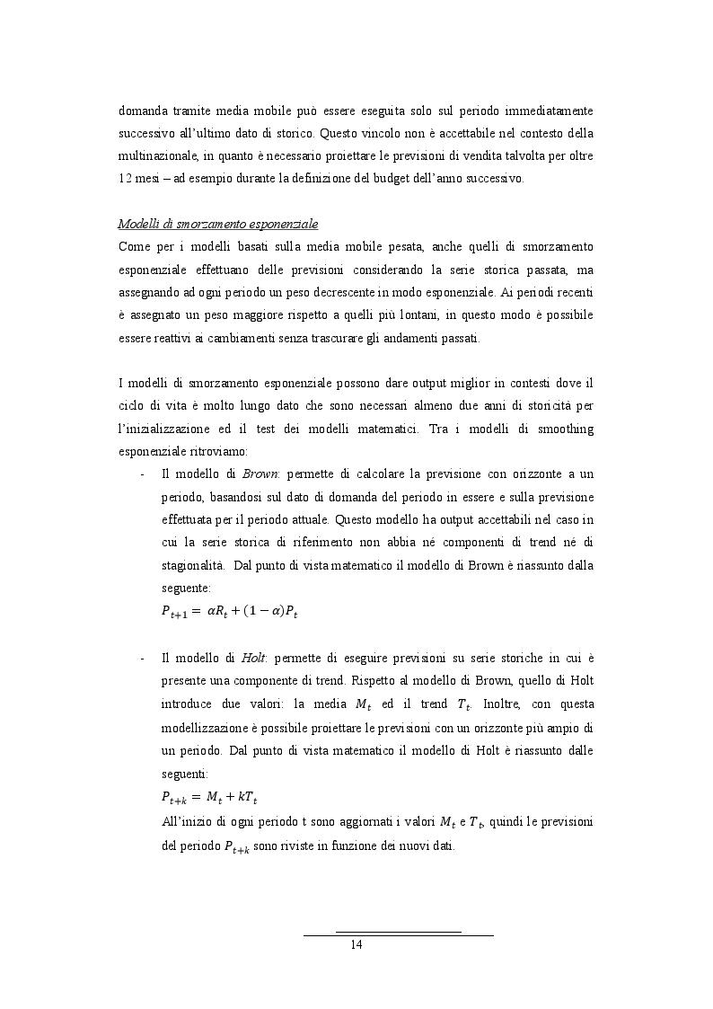 Anteprima della tesi: Analisi della correlazione temporale tra le serie storiche di vendita all'ingrosso e al dettaglio: il caso di un'azienda multinazionale del pharma&care, Pagina 7