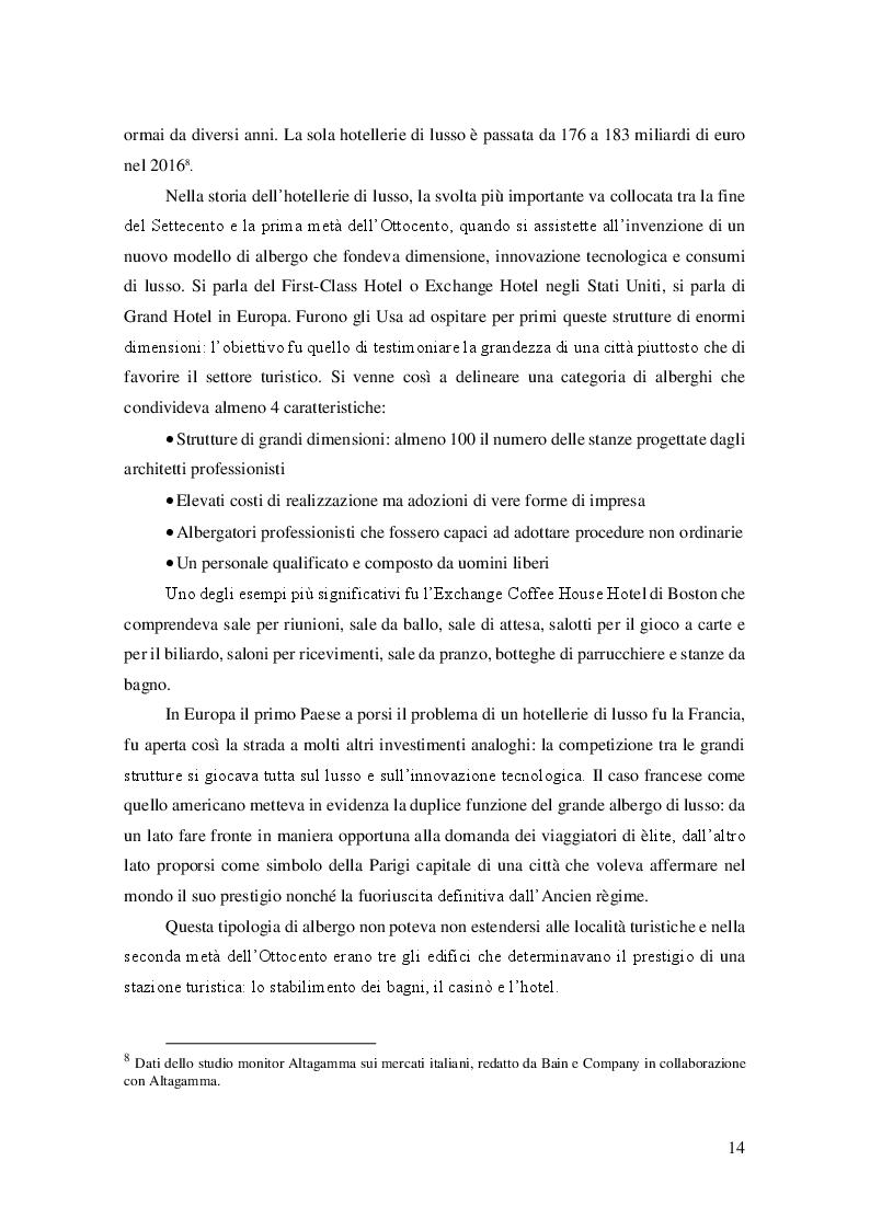 Estratto dalla tesi: Una panoramica sull'hotellerie di lusso: analisi economico-finanziaria dell'Hotel Royal e dei principali concorrenti liguri