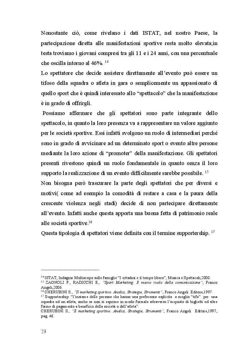 Estratto dalla tesi: Differenze nell'ambito del marketing tra Nba e Lega Basket serie A. il caso Mens Sana Basket Siena.