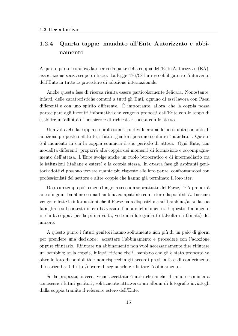 Estratto dalla tesi: Le Adozioni Fallite: indagine esplorativa secondaria presso il Tribunale per i Minori di Trento. Problematiche metodologiche e complessità della ricerca sui fallimenti adottivi.