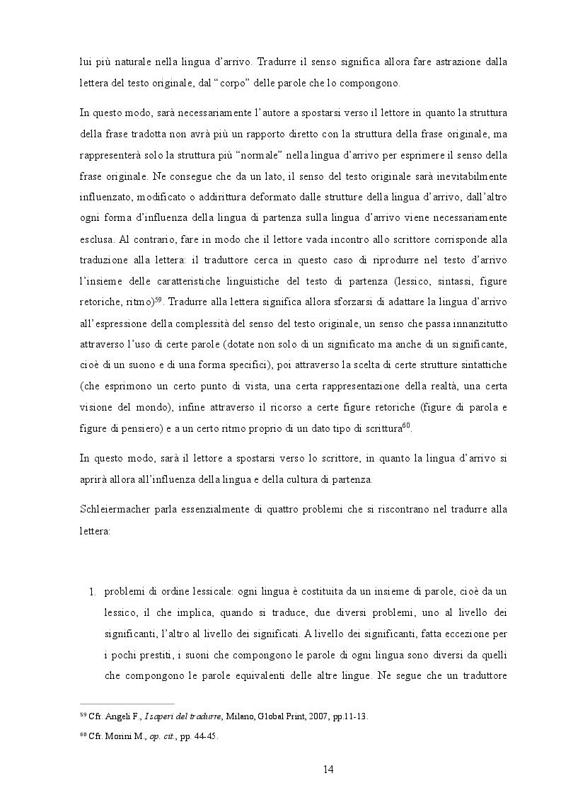 Estratto dalla tesi: ''The Importance of Being Earnest'': tre traduzioni italiane a confronto