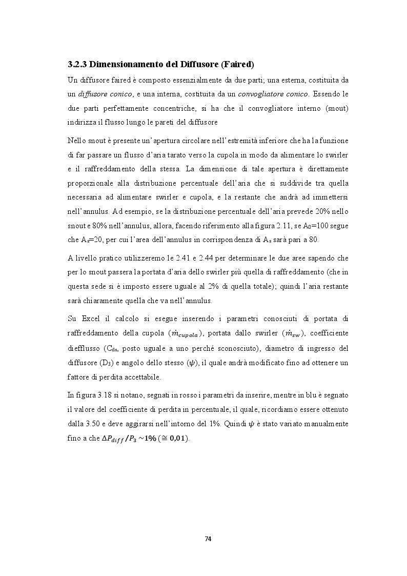 Estratto dalla tesi: Progettazione realizzazione e collaudo di una camera di combustione per microturbine a gas