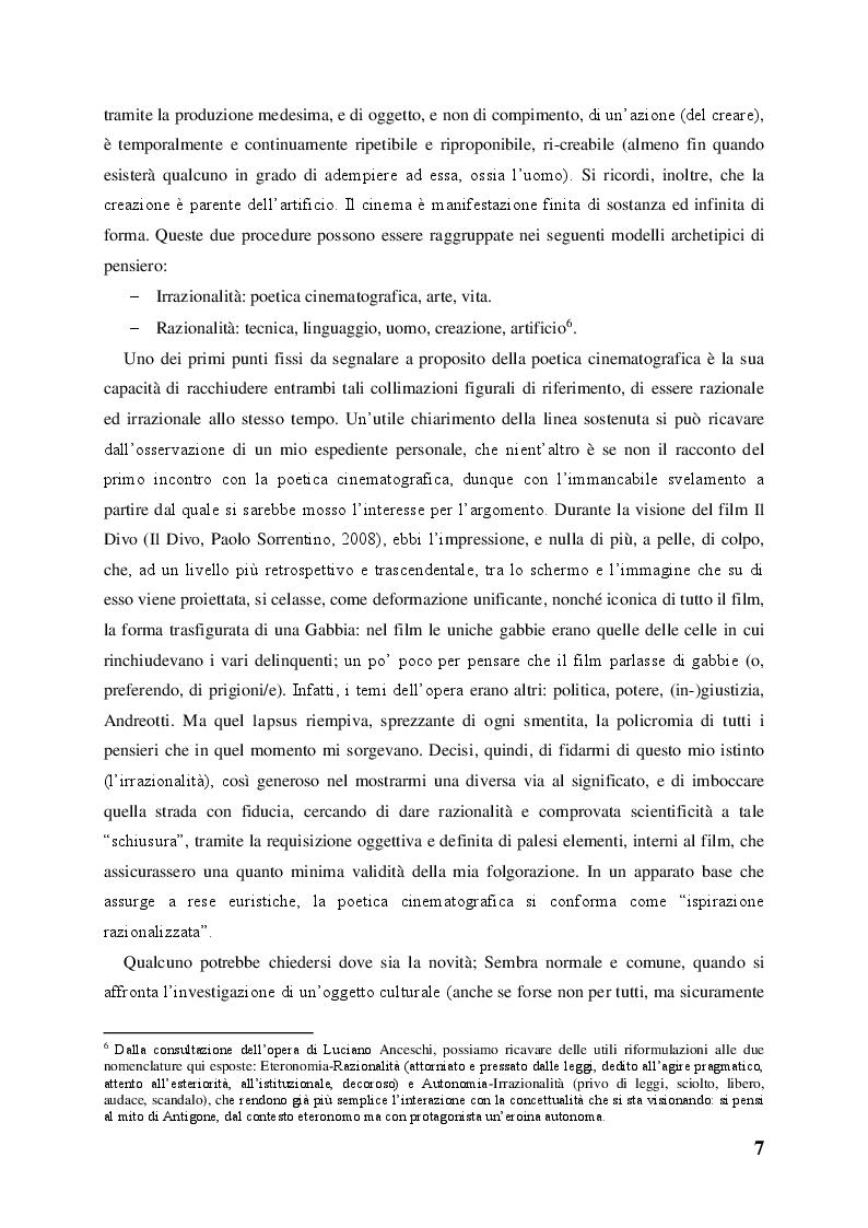 Anteprima della tesi: Spirito e Polvere: Il Vitalismo nella poetica cinematografica di John Huston, Pagina 4