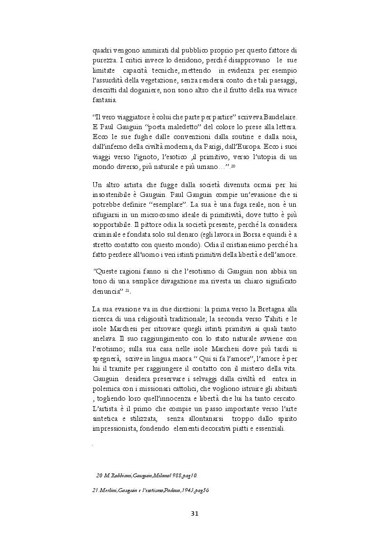 Estratto dalla tesi: L'influenza dell'arte africana nel primo novecento francese