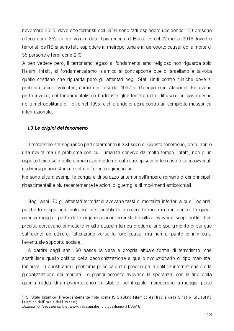 Estratto dalla tesi: Terrorismo e Stato Islamico: analisi del fenomeno. Da Spagna e America Latina la voce degli esperti e della stampa