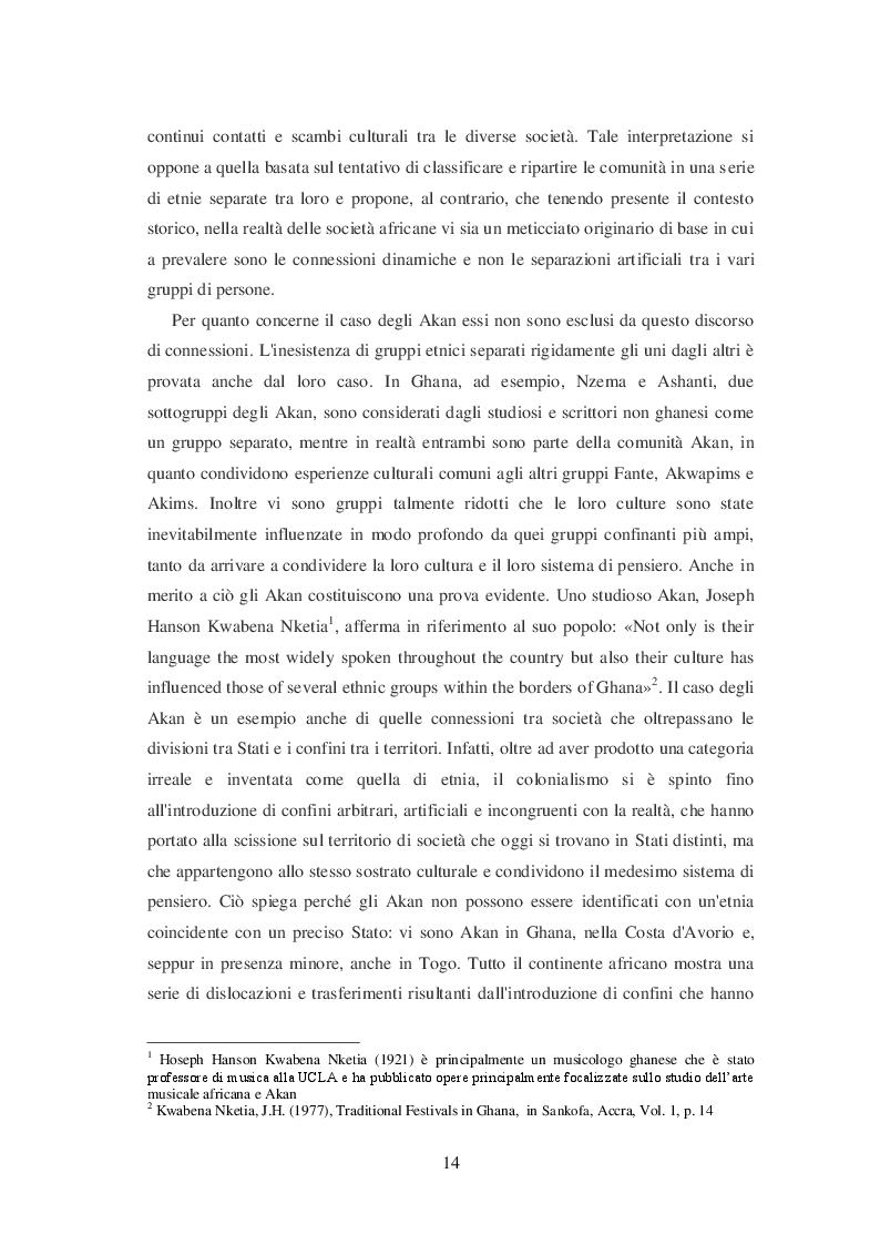 Anteprima della tesi: La filosofia Akan della persona, Pagina 7