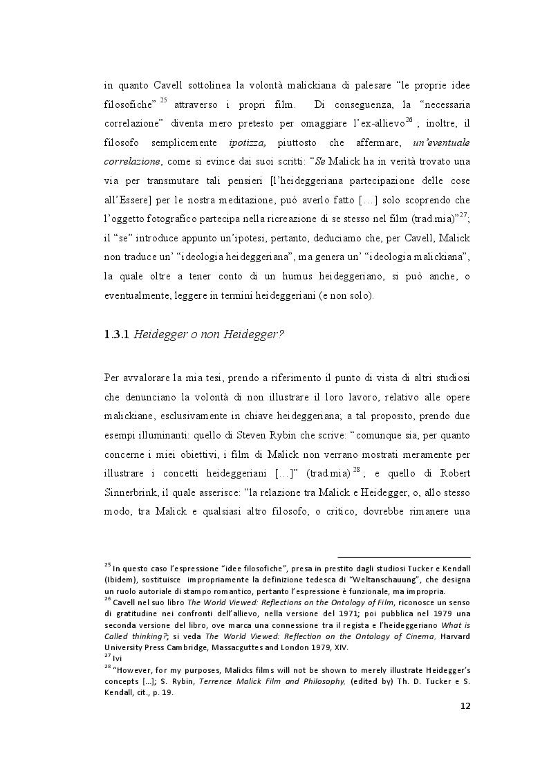 """Estratto dalla tesi: Riflessioni e proiezioni intorno al """"secondo periodo"""" della poetica malickiana attraverso """"The New World"""""""
