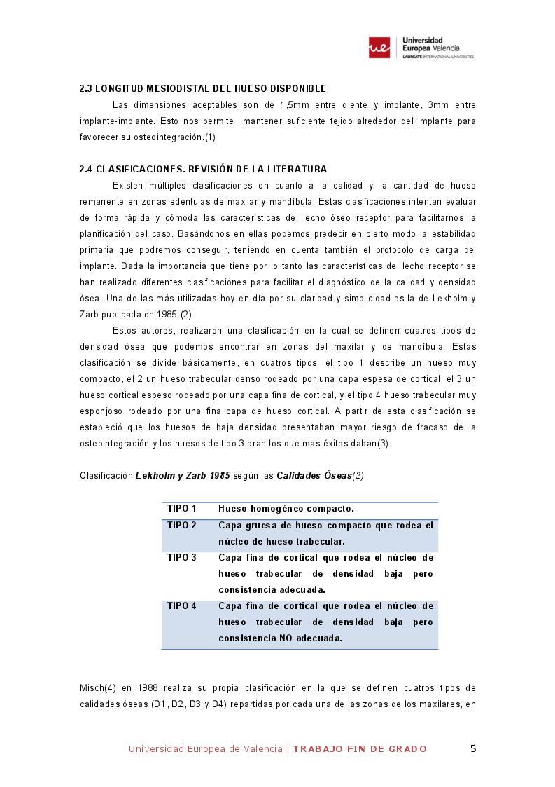 Estratto dalla tesi: Corticotomía ultrasónica y colocación inmediata de implantes en la expansión de la cresta alveolar mandibular. Revisión de la literatura