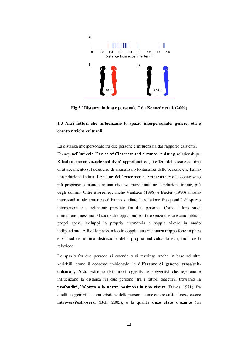 Estratto dalla tesi: La relazione tra  modulazione della prossimità spaziale e attaccamento