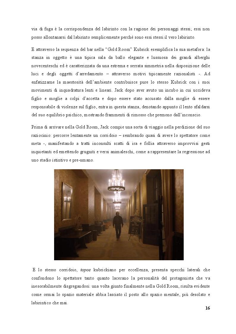 Estratto dalla tesi: Gli orizzonti della ragione: Logos e Caos nel cinema visionario di Stanley Kubrick