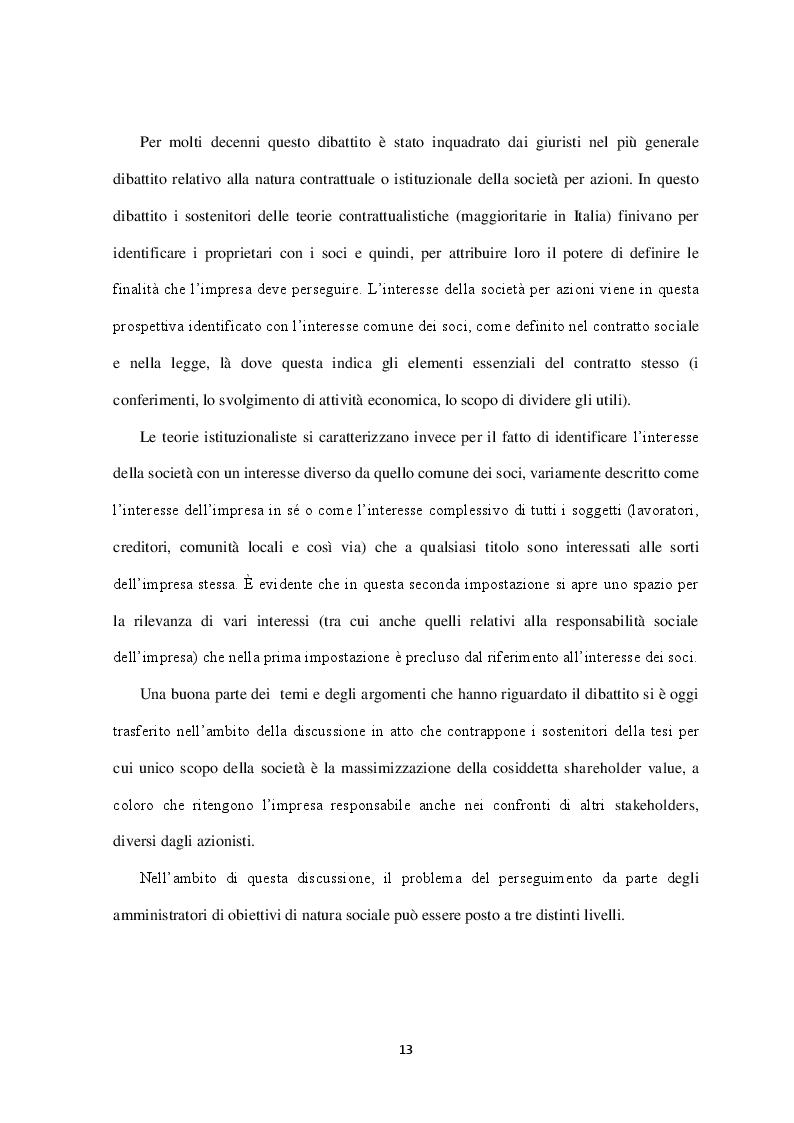 Estratto dalla tesi: La rappresentazione delle informazioni socio-ambientali nel Bilancio di Esercizio: il caso Enel SpA