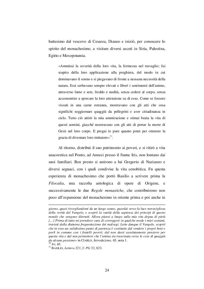 Estratto dalla tesi: Elementi Pneumatologici nel Contra Eunomium e nel De Spiritu Sancto di S. Basilio di Cesarea