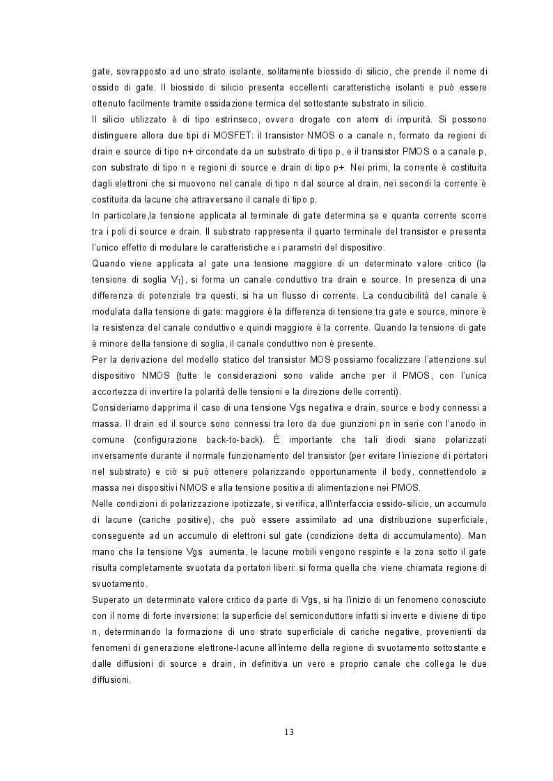 Estratto dalla tesi: Caratterizzazione sperimentale di un Power-Mosfet agli effetti della Temperatura