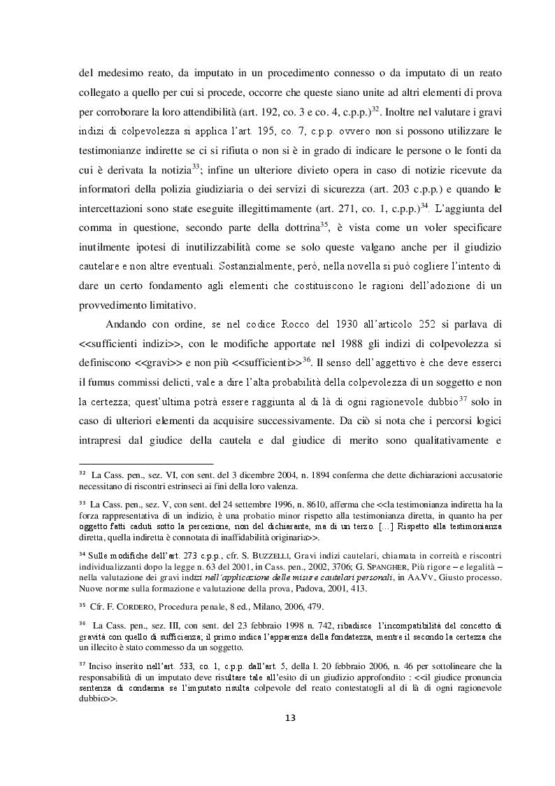 Estratto dalla tesi: Il requisito dell'attualità nelle nuove misure cautelari: l'importanza della legge 16 aprile 2015 n. 47